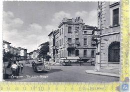 Cartolina - Postcard - Cervignano - Via XXIV Maggio - Animata - Anni '50 - Zonder Classificatie