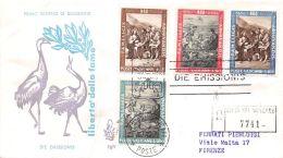 FDC Venetia - Vaticano - 1963 - Campagna Contro La Fame - Racc. VG Timbro Arrivo - FDC