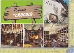 Cartolina - Postcard  - Val Campelle - Rifugio Crucolo - Da Giorda- Multivisione - Zonder Classificatie