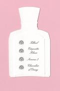 Cartes Parfumées  Cartes D'ORSAY RECTO VERSO - Perfume Cards