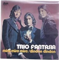 """Disco 7"""" 45 Giri - Trio Fantasia - Mira Mira Mira - Dindon Dindon - Con Dedica - Musica & Strumenti"""