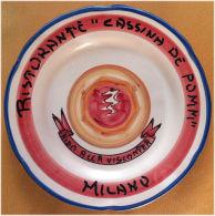 Piatto Buon Ricordo - Milano - Cassina De Pomm - Nido Alla Viscontea - M78 - Oggetti 'Ricordo Di'