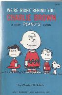 Peanuts - Originale - We're Right Behind You Charlie Brown - 1965 - Original - Livres, BD, Revues