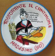 Piatto Buon Ricordo - Madesimo - Il Cantinone - Pizzoccheri - S 2001 - PRESENT. - Oggetti 'Ricordo Di'