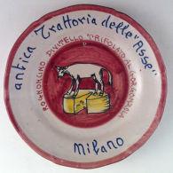Piatto Buon Ricordo - Milano - Trattoria Delle Asse - Rognoncino - 7E - Obj. 'Remember Of'