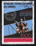 Comoro Islands, Scott # C182 Used Aviation History, 1987 - Comoros