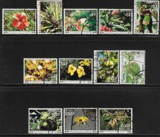 Comoro Islands, Scott # J6-17 Used Postage Due Flowers, 1977 - Comoros