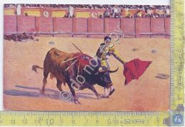 Cartolina - Postcard  - Illustrata - Corrida - Tariffa Per Croce Rossa - 1930 - Europe