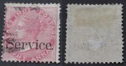 India 1866 Service Y&t 5 Used - 1858-79 Compagnie Des Indes & Gouvernement De La Reine