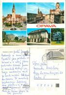 Opava, Czech Republic Postcard Posted 1988 Stamp - Czech Republic