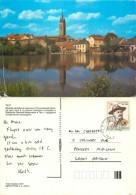 Telc, Czech Republic Postcard Posted 1991 Stamp - Czech Republic