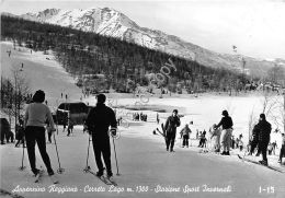 Cartolina - Postcard - Cerreto Lago - Stazione Sciistica - Animata - 1959 - Italia