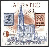 CNEP, BF N° 01 / 1** Strasbourg 1980 / Alsatec - CNEP