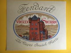 2411 - Suisse Valais Fendant Vieux Sierre Les Caves Imesch - Etiquetas