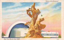 Cartolina - Postcard - New York - World's Fair 1939 - Riders Of The Elements - Cartoline
