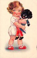 Cartolina - Illustrata - Bambina Con Bambola - Dolly Serie - 1930 - Illustrators & Photographers