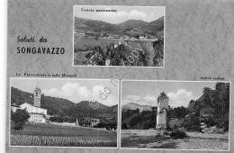 Cartolina - Postcard - Saluti Da - Songavazzo - Vedutine - 1955 - Italie