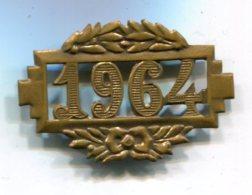 H309 ANCIEN INSIGNE  CONSCRIT 1964 - Armée De Terre