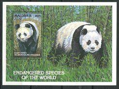 179 MALDIVES 1993 - Yvert BF 285 - Panda - Neuf ** (MNH) Sans Trace De Charniere - Maldives (1965-...)