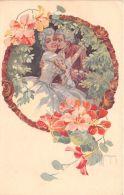 Cartolina - Postcard - Illustrata Malugani - Innamorati - Abbraccio - 1922 - NVG - Non Classés
