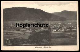 ALTE POSTKARTE ALLARMONT BIONVILLE Vallée De Celles Feldpost Stempel Vosges Ansichtskarte Cpa AK Postcard - Guerre 1914-18