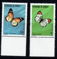 1980  Papillons ** - Gibuti (1977-...)