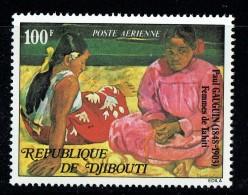 1978  Tableau De Gauguin  «Femmes Tahitiennes»  ** - Gibuti (1977-...)