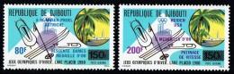 1980  Médailles D'or  Jeux Olympiques D'hiver De Lake Placid ** - Gibuti (1977-...)