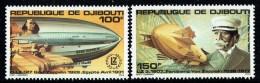 1980  Zeppelin  80è Ann.  ** - Gibuti (1977-...)