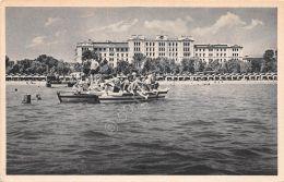 Cartolina  - Venezia Lido - Albergo - Spiaggia - Bagni - Animata - NVG - Italia