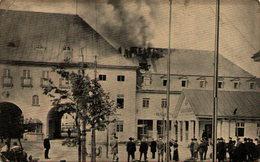 Weltausstellung Für Buchgewerbe Und Graphik Leipzig 1914 - Der Brand Des Verwaltungsgebäudes Am 22 Mai 1914 - En L'état - Leipzig