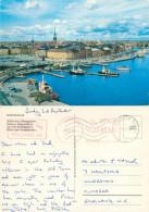 Skeppsbron, Stockholm, Sweden Postcard Posted 1989 Meter - Suède