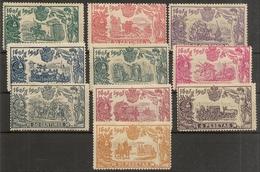 España  Edifil 257/266* Mh Centenario El Quijote  1905    NL543 - 1889-1931 Kingdom: Alphonse XIII