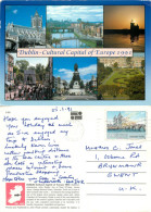 Dublin, Ireland Postcard Posted 1991 Stamp - Dublin
