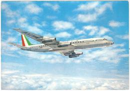 Alitalia Douglas Super DC-8 - 2 Scans - 1946-....: Moderne