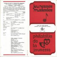3 FOLDERS  POSTE BELGE TP N° 1827 + 1837 + 1838 CACHETS POSTAUX DE NAMUR ET BELGRADE (9 SCANS) - Documents De La Poste