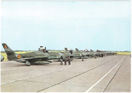 Republic RF 84 F Thunderflash Force Aérienne Belge - Avion De Reconnaissance / Belgische Luchtmacht Verkenningsvliegtuig - 1946-....: Modern Tijdperk