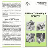 2 FOLDERS  POSTE BELGE TP N° 2039/42 + 2043/46 (BL58) CACHETS POSTAUX DE FARCIENNES  (6 SCANS) - Documents De La Poste