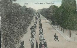 AK 0545  Wien - K.k. Prater-Hauptallee / Verlag Nachbargauer Um 1910-20 - Prater