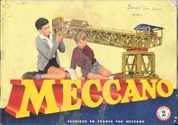 D 145  Manuel D'instruction N°2 De Méccano Des Années 1950 - Bücher, Zeitschriften, Comics