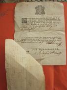 1779 Septèmes Les Vallons Fam Bourilly Aillaud Baptéme J.B De BELLON CONSEILLER ROI BASILIQUE N.D.DE LA GARDE Manuscrit - Manuscrits