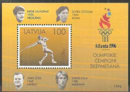 Lettonia 1996 Nuovo** - Mi. BL. 9 - Lettonia