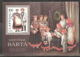 Lettonia 1996 Nuovo** - Mi. Bloc 7 - Lettonia