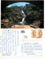 Dudh Sagar, Goa, India Postcard Posted 2006 Stamp - India