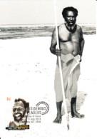 Australia 2013 Maxicard Scott #3949 60c Eddie 'Koiki' Mabo Indigenous Leaders First Day Issue - Cartes-Maximum (CM)