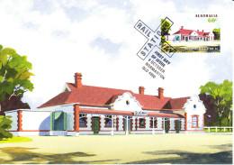 Australia 2013 Maxicard Scott #3997 60c Quorn Historic Railway Stations First Day Issue - Maximumkarten (MC)