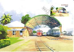Australia 2013 Maxicard Scott #3999 60c Normanton Historic Railway Stations First Day Issue - Maximumkarten (MC)