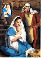Australia 2013 Maxicard Scott #4008 55c Mary And Christ Child Christmas First Day Issue - Maximumkarten (MC)