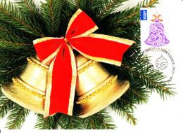 Australia 2013 Maxicard Scott #4012 $1.70 Bell Christmas First Day Issue - Maximumkarten (MC)