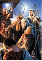 Australia 2013 Maxicard Scott #4013 $2.55 Shepherds Christmas First Day Issue - Maximumkarten (MC)